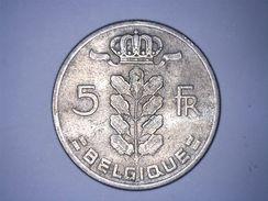 BELGIQUE - 5 FRANCS 1966 - 1951-1993: Baudouin I