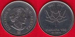 "Canada 50 Cents 2017 ""Canada 150 Logo"" UNC - Canada"