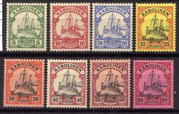 Deutsche Kolonien, Karolinen Mi 8-15 * [020612III] @ - Colonia: Isole Caroline