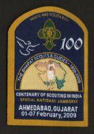 India   2009  Bharat Scouts & GUides  National Jumboree   Badg  #   15345  OLD    Inde Indien - Scouting