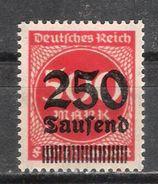 Reich N° 272 Neuf ** - Nuovi