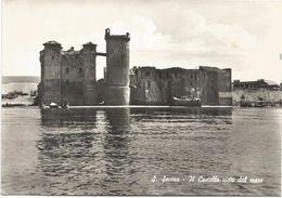 X509 Santa Marinella (Roma) - Il Castello Di Santa Severa Visto Dal Mare - Panorama / Non Viaggiata - Other Cities