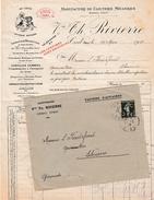 1919 - CREIL (60) - Manufacture De CLOUTERIE MECANIQUES - Maison Vve Th. RIVIERRE - Historische Documenten