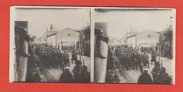 51 St Etienne Au Temple 1915 RARE Photo De Poilu Passage De  Prisonniers Boches Ww1 Dos Scané Légendé - France