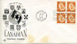 CANADA -  1966 Christmas  FDC547 - 1952-.... Regno Di Elizabeth II