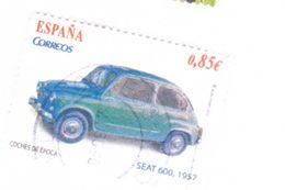 0,85 EURO - 2002 - SEAT 600 1957 - 2001-10 Oblitérés