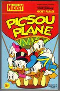 "MICKEY-PARADE N° 1372-BIS  ""  PICSOU PLANE "" - Mickey Parade"