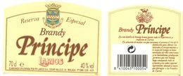 1402 - Espagne - Andalousie - Reserva Especiqal - Brandy Principe - Larios - Málaga - Labels