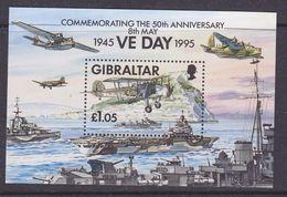 Gibraltar 1995 VE Day M/s ** Mnh (37026A) - Gibilterra