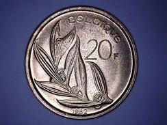 BELGIQUE - 20 FRANCS 1982 - 1951-1993: Baudouin I