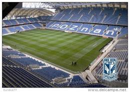 Stadium Municipal Of Poznan (Lech Poznan,Poland) Postcard - Size: 15x10 Cm. Aprox - Fútbol