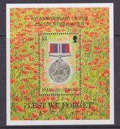 Falkland Islands 1995 End Of WW II M/s ** Mnh (37028) - Falklandeilanden
