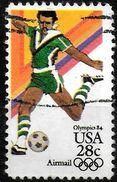 USA   PA 102 Oblitere    Jo 1984  Football  Fussball  Soccer - Soccer