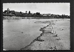 Plage De Cosne Sur Loire- CPSM Nièvre Morvan Bourgogne - Cosne Cours Sur Loire