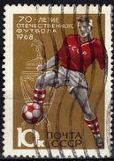 URSS     N° 3384   Oblitere      Football  Soccer  Fussball - Soccer