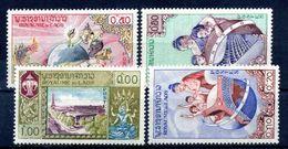 1958 LAOS SERIE COMPLETA MNH ** - Laos