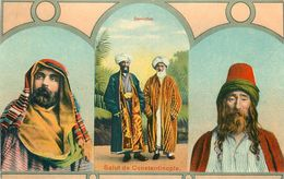 قسطنطینیه (Kostantiniyye), CONSTANTINOPLE - DEVICHES - TURQUIE - GRECE. - Europe