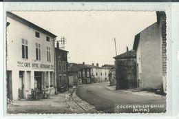 54 COLOMBEY Les BELLES Façade Café Avec Terrasse - Colombey Les Belles