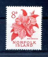 1960-63 NORFOLK N.31 MNH ** - Isola Norfolk
