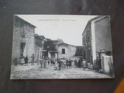 CPA 30 Gard Domessargues Place Des écoles   TBE - France