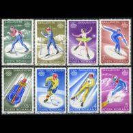 ROMANIA 1984 - Scott# 3166-73 W.Olympics Set Of 8 MNH - 1948-.... Republics