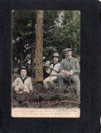 73283    Germania,  Konig  Friedrich August III.  Von  Sachsen Mit  Seinen  Sohnen In Der Dresdner Heide,  VG  1911 - Familles Royales