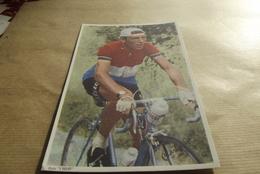 Carte Photo L Equipe Charly Gaul   Dans Le Tour De France Dimension 17.50 Cm Longeur 11 Cm - Radsport