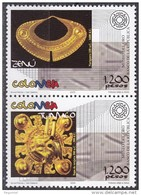 Colombia 1319/1320 ** MNH. 2005 - Colombia