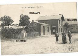 Saint-Hilaire-lez-Cambrai (59533) 1643h.- La Gare - Autres Communes