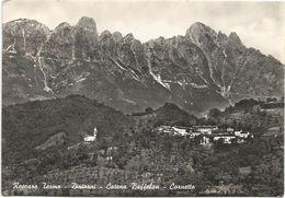 X521 Recoaro Terme (Vicenza) - Catena Baffelan Ed Il Cornetto - Panorama / Viaggiata 1961 - Italia