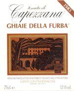 1414 - Italie - Toscane - 1983 - Tenuta Di Capezzana - Ghiaie Della Furba - Conte Contini Bonacossi - Rode Wijn