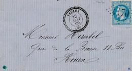 Veules Type 22 Sur LAC GC 4170 TTB. - Postmark Collection (Covers)