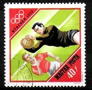 HONGRIE  N° 2236   Oblitere     Jo  1972    Football  Soccer Fussball - Soccer