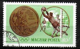 HONGRIE   N° 1705  Oblitere  JO 1964      Football  Soccer   Fussball - Soccer