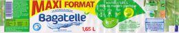 Etiquette - EAU De Source BAGATELLE - ILE DE LA REUNION -  1.65 L - POUR BIBERON BEBE - Etiketten