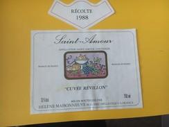 5547 - Saint-Amour 1988 Cuvée Révillon - Beaujolais