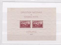 LUXEMBOURG  BLOC     YT  N° 2 ** EXPOSITION NATIONALE DUDELANGE 1937 - Blocks & Kleinbögen