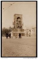 OLD PHOTOCARD TURQUIE - TURKEY - ISTANBUL TAKSIM - MONUMENT DE L' INDEPENDANCE - RRRRRRR !! - Turquie