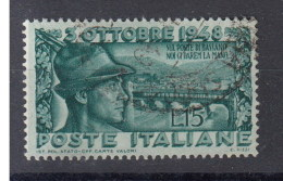 Italien (BK) Michel Cat.No. Used 761 - 1946-60: Usados