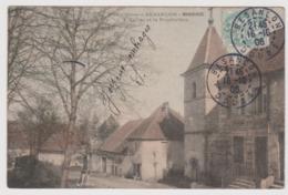 Environs De Besançon - MORRE - Eglise Et Presbytère Colorisée/  Doubs - France