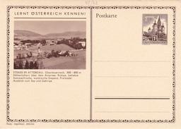 Entier Postal Autriche/Österreich NEUF - 48/22 - Strasse Im Attergau - Stamped Stationery