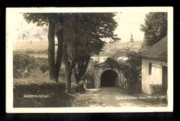 Mahrisch-Trubau - E.Hinkelmann Mahr. Trubau 1925 / Postcard Circulated, 2 Scans - Tchéquie