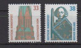 BRD / Freimarken: Sehenswürdigkeiten (V)/ MiNr. 1399 A, 1400 A - BRD