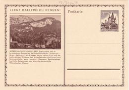 Entier Postal Autriche/Österreich NEUF - 48/28 Ou 27 -  Worschach-Schwefelbad - Entiers Postaux