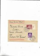 Brief Durch Feldpost/Dresden Nach Der Deutschen Schule/Lüttich/über Luftgau P.t. Brüssel! - Briefe U. Dokumente