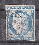 Colonies Générales,type CERES ,Yvert N° 23 , 25 C Bleu Obl Cachet à Date Ligne ? Correspondance Armées ? 11 Juillet 1876 - Cérès