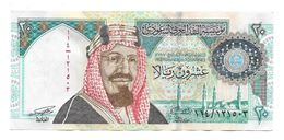 Saudi Arabia 1999 Banknote Centennial Of The Kingdom 20 Riyals Abdul Aziz, Almost UNC Condition - Saudi-Arabien