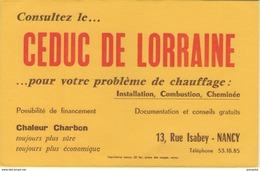 BUVARD & Blotting Paper - CEDUC DE LORRAINE - 13, Rue Isabey - Nancy - Buvards, Protège-cahiers Illustrés