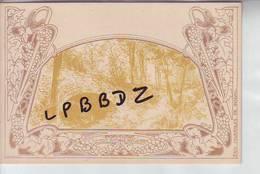 CPA - BELGIQUE - GROENENDAEL - Le Pont Rustique Dans La Forêt - ILLUSTRATEUR Paul Cauchie - ART NOUVEAU - PUBLICITE - Autres Illustrateurs