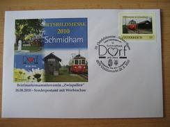 Österreich Pers. Briefmarken Von Der Ortsbildmesse In Schmidham 2010 - Personalisierte Briefmarken